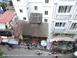 Đình làng Hàng Quạt, Hà Nội. Photo: MTT 2014