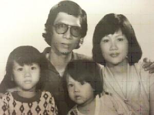 Gia đình Nguyễn Phước Bảo Ân. Ảnh: gia dình Bảo Ân