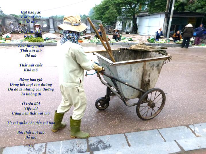 Thơ LS - Cột bao rác....
