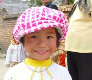 Bé gái quê miền Bắc năm 2013