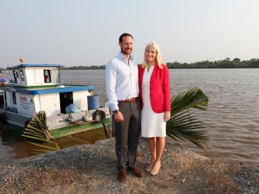 Prince Haakon et pricesse Mette-Marit au Vietnam