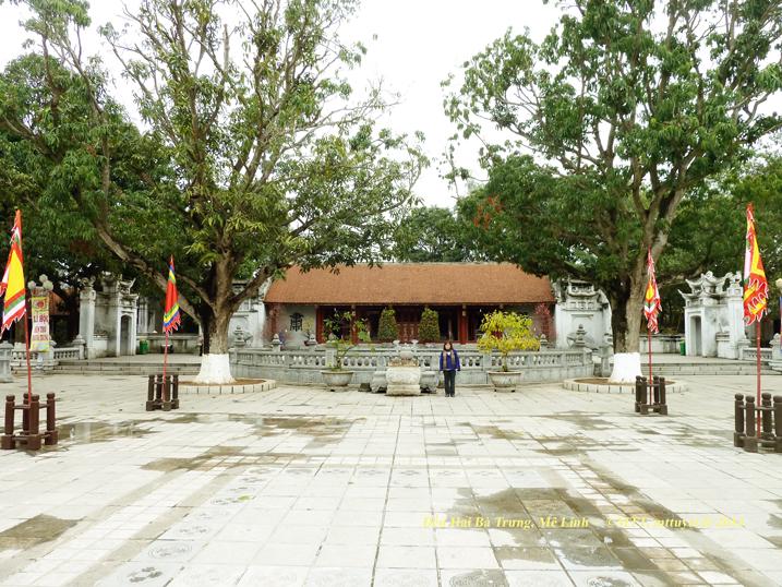 Le temple Hai Bà Trưng, à Mê Linh, Hà Nội