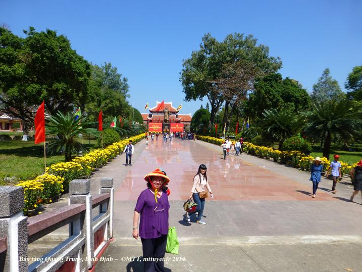 Le temple des frères Nguyễn, à Tây Sơn, Bình Định - Photo: © Mathilde Tuyet Tran