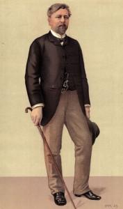 Ông Alexandre Gustave Bonickhausen, gọi là  Eiffel, sinh ngày 15-12-1832 tại Dijon, qua đời ngày 27-12-1923 tại Paris, là người xây dựng tháp Eiffel mang tên ông, pho tượng Nữ thần Tự Do đặt tại New York và những công trình kiến trúc khác...như ở Việt Nam dưới thời Pháp thuộc. Photo: Hulton Archive/Getty Images